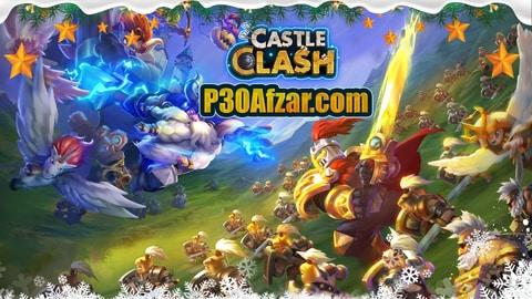 بازی Castle Clash: Brave Squads