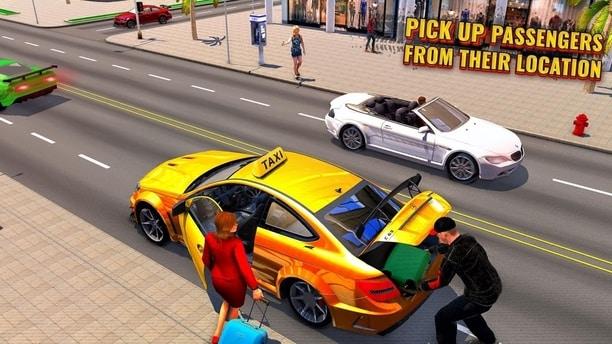 بازی راننده تاکسی دیوانه