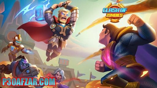 بازی Clash of Zombies
