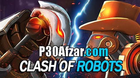 بازی نبرد ربات ها Clash Of Robots