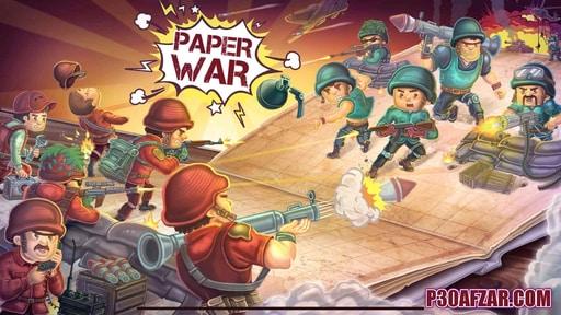 دانلود بازی جنگ کاغذی