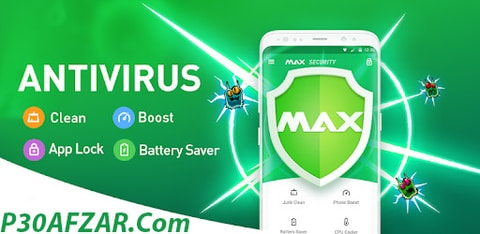 آنتی ویروس Virus Cleaner, Antivirus ( MAX Security )