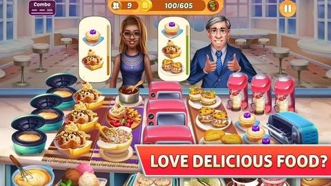 بازی دخترانه Kitchen Craze 1