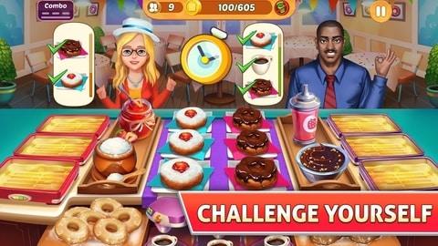 بازی دخترانه Kitchen Craze 3