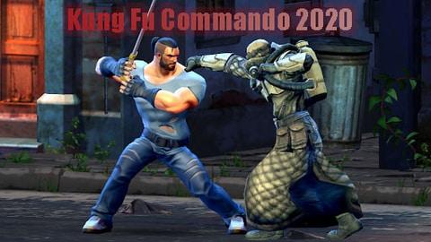 بازی مبارزه ای Kung Fu Commando 2020