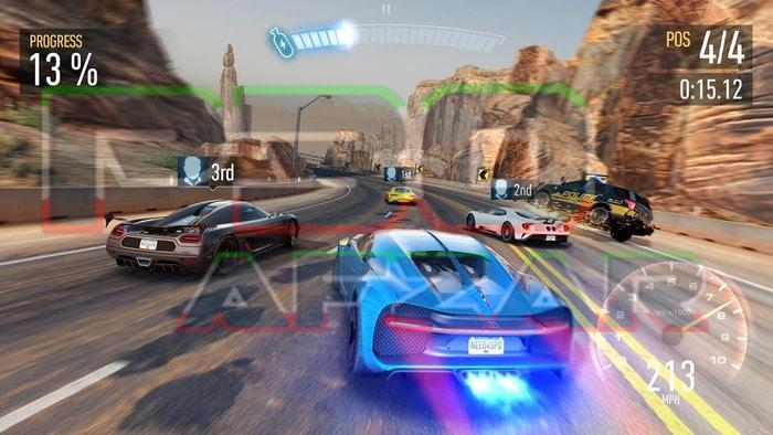 بازی جنون سرعت: بدون محدودیت 1