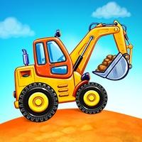 دانلود بازی بچه گانه Truck games for kids - build a house car wash برای اندروید